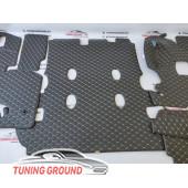 Коврик-комплект в багажник Land Cruiser 200 2008-2019