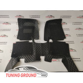 Коврики в салон Nissan Patrol Y62 черные