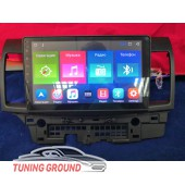 Штатная автомагнитола для Mitsubishi Lancer 08-12 год на Android 10 дюймов