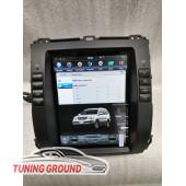 Штатная автомагнитола для  Land Cruiser Prado 120 /Lexus GX 470 в стиле Tesla на Android