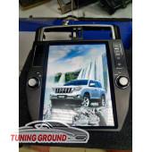 Штатная автомагнитола для Land Cruiser Prado 150 2008-2013 в стиле Tesla на Android