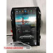Штатная автомагнитола для Land Cruiser 200 07 -15 г. в стиле Tesla на Android