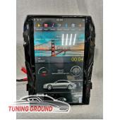 Штатная автомагнитола для Land Cruiser 200 07 -15 г. в стиле Tesla на Android 8