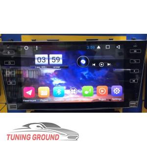 Штатная автомагнитола для Toyota Camry V40 2006-2011 год na Android 6.1 9 дюймов