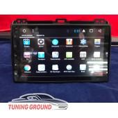 Штатная автомагнитола для Land Cruiser Prado 120  на Android 7.1 9 дюймов