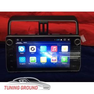 Штатная автомагнитола для Land Cruiser Prado 150 2018 г на Android