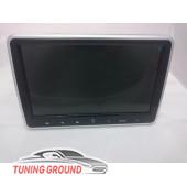 Монитор в подголовник автомобиля универсальный на DVD тонкий