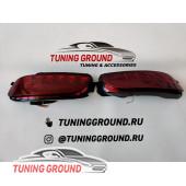Фонари в задний бампер диодные красные для Lexus RX 2003-2009