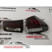 Задние фонари тюнинг (красно-дымчатые) для Lexus rx 03-08 год!