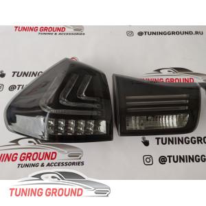 Задние фонари тюнинг (черные) для Lexus rx 03-08 год!