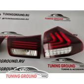 Задние фонари тюнинг (красные) для Lexus rx 03-08 год!