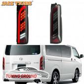 Задние фонари тюнинг для Toyota Hiace 2004-2019 год