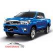Коврики Toyota Hilux 2016-2019 год