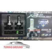 Светодиодные лампы X3 6000 LM