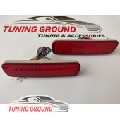 Катафоты в бампер задний красные Land Cruiser 100