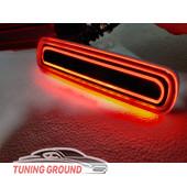 Катафоты в  задний бампер красные неоновые для Land Cruiser 100