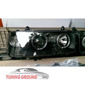 Фары с линзой черные под ксенон на Land Cruiser 80 1989-1998