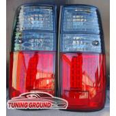 Стопы диодные на Land Cruiser 80 1989-1998 год Вариант 3