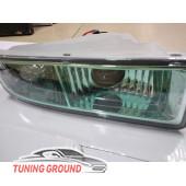 Противотуманные фары Lexus LX 470 зеленое стекло, линза.