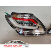 Катафоты CHROME в бампер Lexus RX 350 2009-2015 год. ТАЙВАНЬ