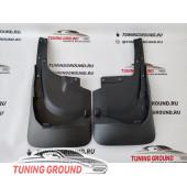 Брызговики на Land Cruiser 200 2008-2015 под обвес