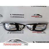 Задние фонари тюнинг Хром на Maxda CX5 2011-2016 год