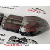 Задние фонари Диодные дымчатые на Nissan Patrol Y 62 2010-2018