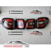 Задние фонари диодные Nismo на Nissan Patrol Y 62 2010-2018