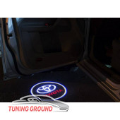 Подсветка в двери логотип TOYOTA