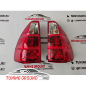 Задние фонари в стиле Lexus GX 470 на Prado 120/GX 470 2002-2008 год
