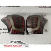 Задние фонари тюнинг дымчатые для Subaru Forester 13-19 год