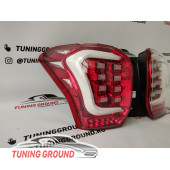 Задние фонари тюнинг красные для Subaru Forester 13-19 год