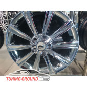 Литые диски R17 Zoom Wheel Вариант 3 Хром
