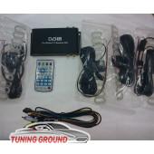 Цифровой автомобильный ТВ-тюнер dvb-T2, (4 антенны)